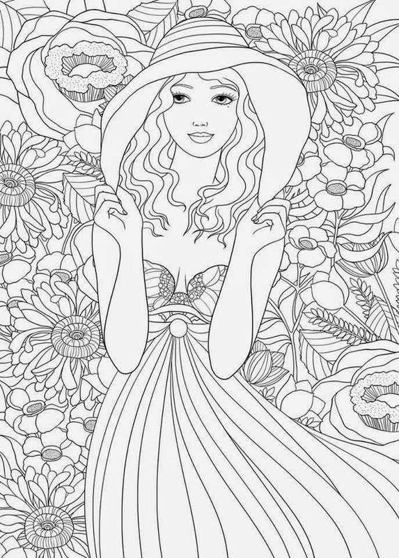 Online Coloring For Adults