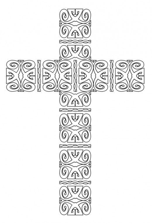 Kolorowanki Dla Dorosłych Religijne Do Wydruku Część 1