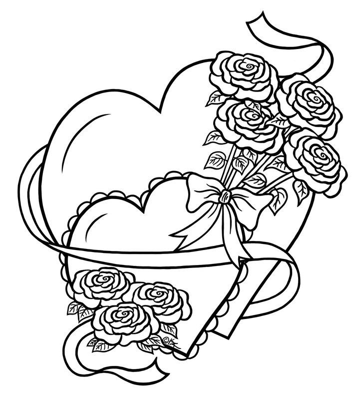 Kolorowanki Dla Dorosłych Serce Do Wydruku Część 6
