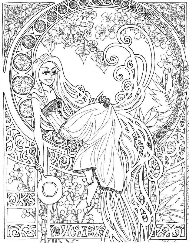 Scribble Drawing In Art Therapy : Kolorowanki dla dorosłych disney do wydruku część