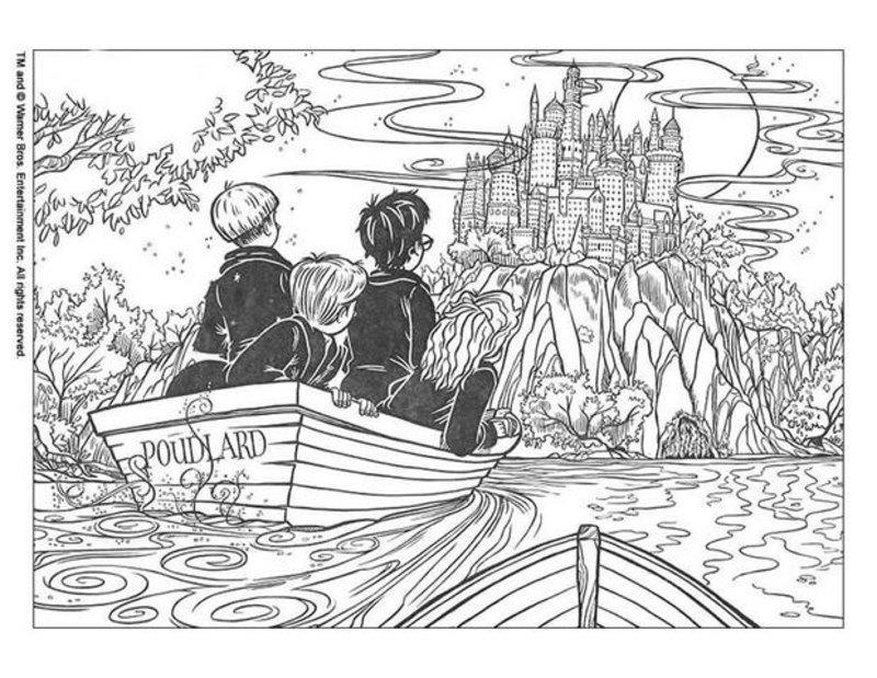Kolorowanki Dla Dorosłych Harry Potter Do Wydruku Część 5