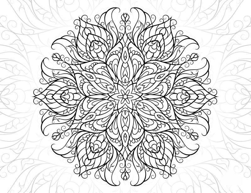 Kolorowanki Dla Dorosłych Kwiaty Do Wydruku Część 2
