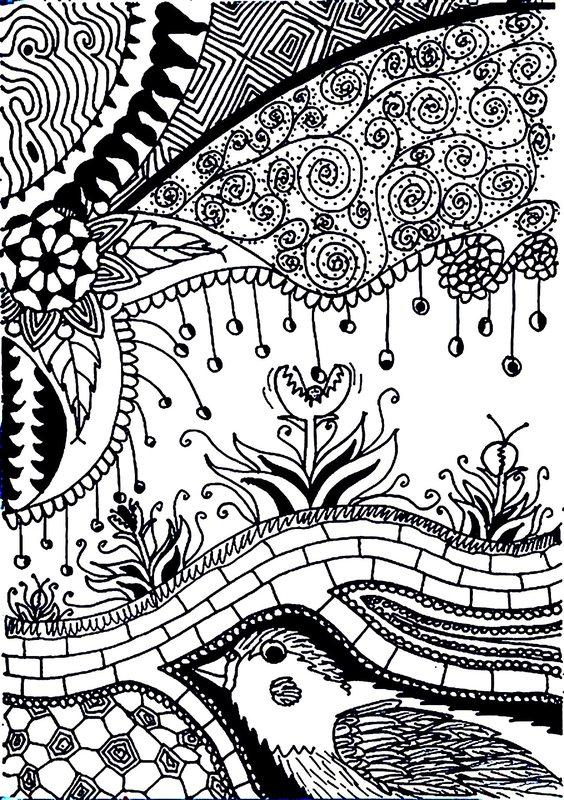 Kolorowanki Dla Dorosłych Kwiaty Do Wydruku Część 4