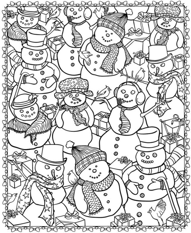 christmas coloring pages free coloring pages - 650×793