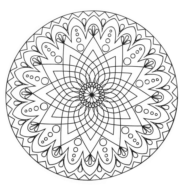 mazuras mandala coloring pages - photo#16