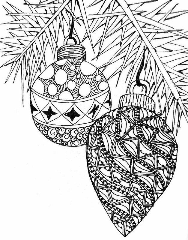 Kolorowanki Dla Dorosłych Boże Narodzenie Do Wydruku Część 1