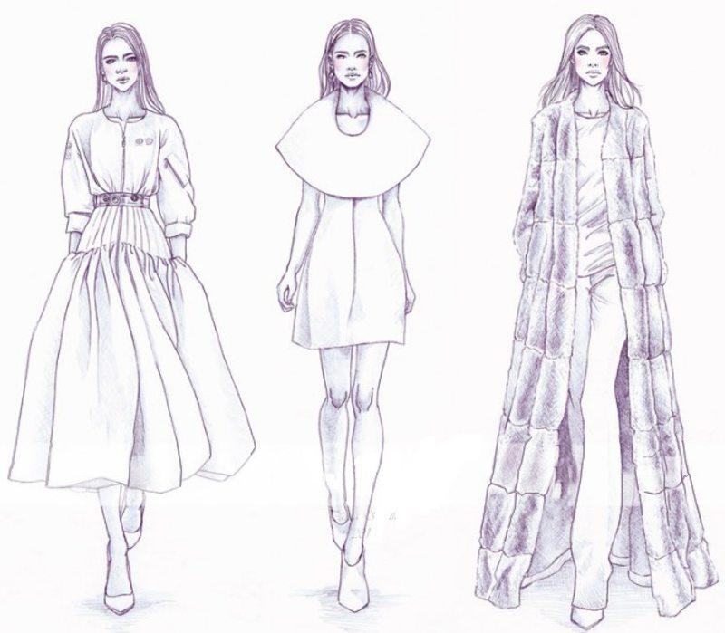 Kolorowanki Dla Doroslych Moda Do Wydruku Czesc 6