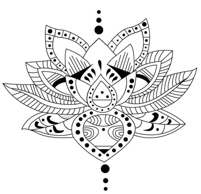 Tatuaże Kolorowanki Do Wydruku Dla Dorosłych Część 1